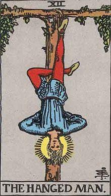 Tarot Major arcana 12 Hanged Man