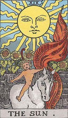 今週のビジョン:タロットカード大アルカナ:太陽正位置:明るく照らして生命の息吹を与え育んでくれる太陽。あなたも自分の太陽を中に持っているということを、いつもよりも感じられる時期。さらに明るく光って人生が楽しくなりそう。
