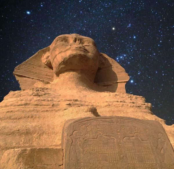 イメージ画像:スフィンクス(Sphinx)。エジプト神話やギリシア神話、メソポタミア神話などに登場する、ライオンの身体と人間の顔を持った神聖な存在あるいは怪物。