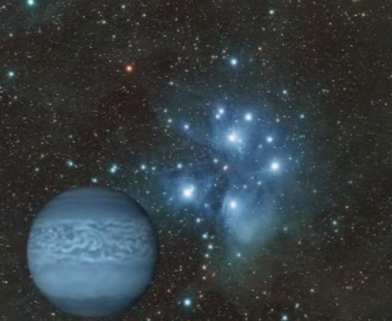 イメージ画像:共鳴し響きあう海王星